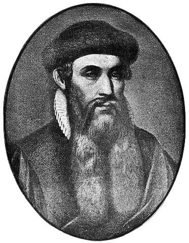 Johannes Gutenberg inventor of the Gutenberg Press and the Gutenberg Bible