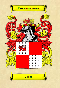 coat of arms, croft