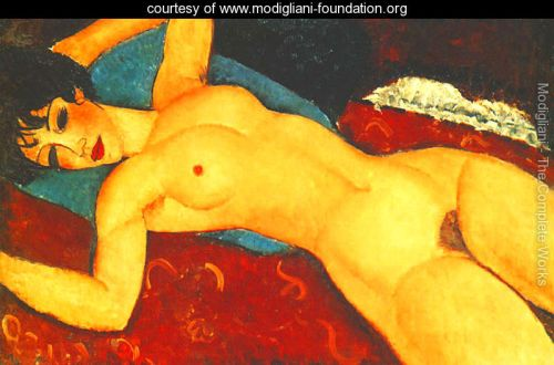 Sleeping-Nude-With-Arms-Open---Red-Nude-large